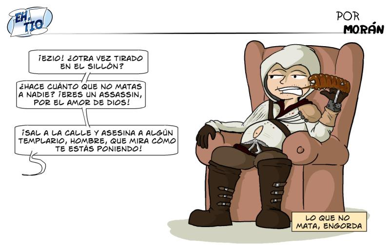 Viñeta Ezio